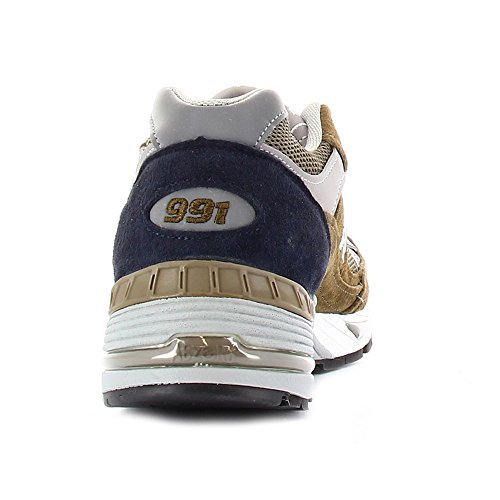 New Balance , Herren Sneaker Brown-Navy