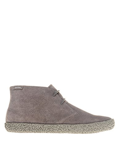 SUPERGA Mens Mens 2798 SUEM Beige Booties With Lace Suede Grey