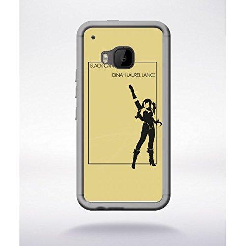 Schutzhülle Transparent HTC One M9Black Canary Dinah Laurel startet