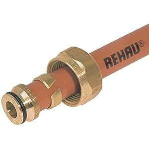 Raccord à visser pour tube DN16x1,5 pour raccordement des tubes PER au collecteur 257382/010
