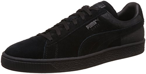 Puma Men's Suede Classic Casual Emboss Puma Black Sneakers - 9 UK/India (43 EU)