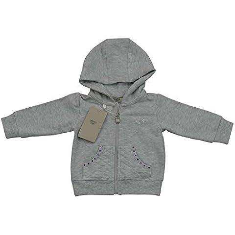 Armani bébé fille Pull à capuche pour homme Gris/100% authentique Luxe Sz 3m