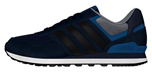 adidas 10k, Chaussures de Sport Homme Bleu (bleu marine collégial / noir essentiel / bleu Unity)