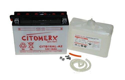 Batterie 12V 16AH für Ducati Monster 600, 750, 900, SS, Supersport, Yamaha VMX12, VMX 1200 Vmax, XV 750 Virago
