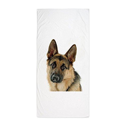 CafePress-Deutscher Schäferhund-Große Strandtuch, weiche 76,2x 152,4cm Handtuch mit Einzigartiges Design -