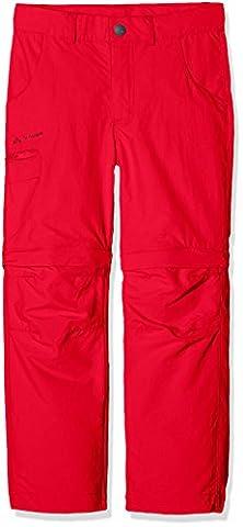 VAUDE Kinder Detective ZO Pants II Hose, Indian Red, 158/164