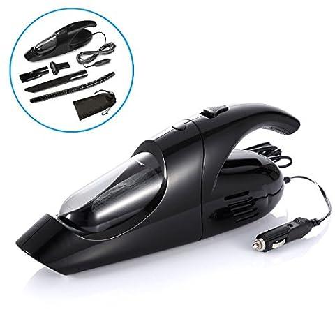 Keynice 80W 12V mini voiture portable Aspirateur avec un cordon