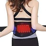 Heizung Gürtel—Graphene Wärmegürtel USB Nierenwärmer Heizkissen für Rücken Bauch 5V/2A Heizgürtel 3 Temperaturstufen Rückenwärmer Leichtgewicht für Männer und Frauen Lindern Bauchschmerzen MEHRWEG