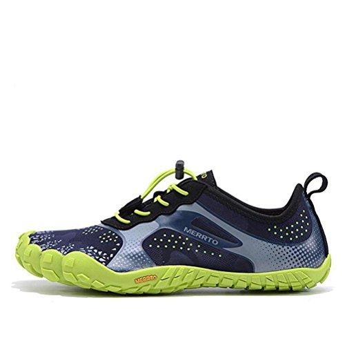 Suetar Scarpe da Ginnastica Traspirante Leggera e Antiscivolo Sneakers da Esterno Moda e Comodo Green