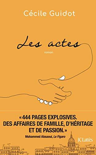 Les actes by Cécile Guidot