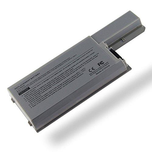 7xinbox 9 Cells 7800mAh Ersatz Akku Batterie 0MM160 für Dell 310-9122 310-9123 312-0537 312-0538 CF632 Replacement Laptop Battery fit Dell D820 Battery, Dell Latitude D830, D531, D531N, M65 Serie (Akku Latitude D830)