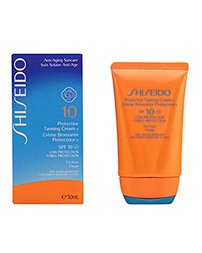 Shiseido Protective Tanning Cream N SPF 10 ( For Face ) - 50 ml