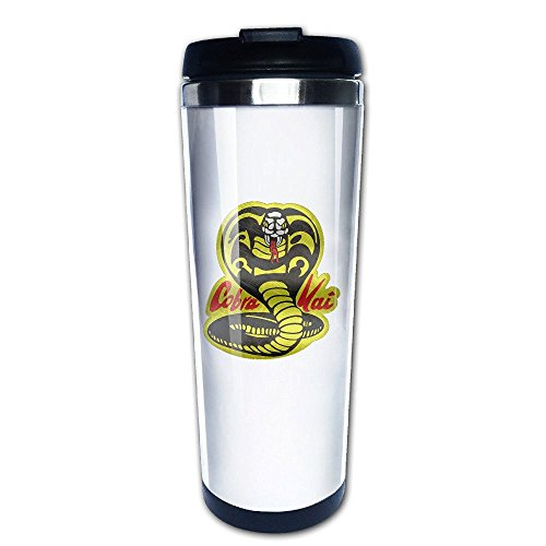 41I17%2BdL82L - Taza take away de Cobra Kai blanca
