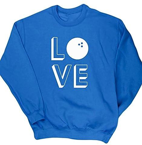 HippoWarehouse - Sweat-Shirt - Homme - Bleu - Medium