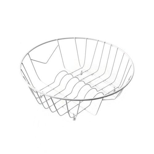 Pyramis 525000501 Geschirrkorb weiß für Rundbecken Spülenzubehör Küche