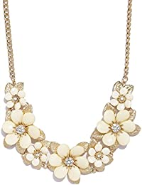 Shining Diva Fashion Jewellery Crystal Modern Western Party Wear Stylish Choker Necklace For Women And Girls