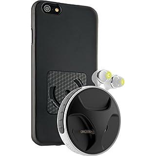 SmartWind-Bumper Duo für iPhone 6/6S - Hochwertiger, abnehmbarer Kabelaufroller für Kopfhörer mit separater Schutzhülle von athos-c