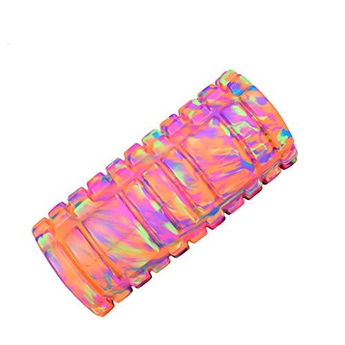 DLJFU - Faszienrolle Tragbare Schaumstoffrolle - Muscle Roller für Tiefe Gewebe Muskelmassage - Ideal für Yoga, Pilates, Myofascial Release, Schmerzlinderung, IT-Band Foam Roller (Color : B)