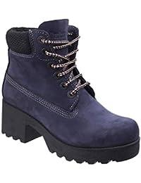 734153bd5ad Darkwood Womens Ladies Leather Pine Hiking Boots