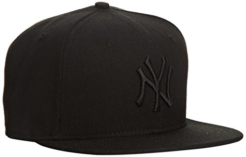 new-era-59-fifty-ny-yankees-cappello-con-visiera-colore-nero-black-black-taglia-7