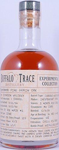 Buffalo Trace 1994 14 Years Fine Grain Oak Barrel Bourbon Whiskey 7. Release 2009 Experimental Collection 45,0% Vol. - besondere Rarität und Einzelstück aus der legendären Buffalo Trace Destillerie -