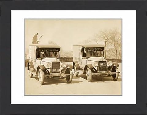 Framed Print of Nash Emergency Car