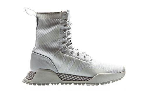 Adidas f/1.3 pk, scarpe da fitness uomo, bianco (ftwbla/ftwbla / blacla), 44 2/3 eu
