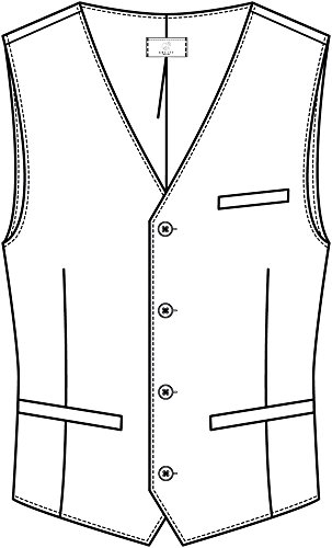 Greiff Herren-Weste, Regular Fit, 8202, mehrere Farben Schwarz