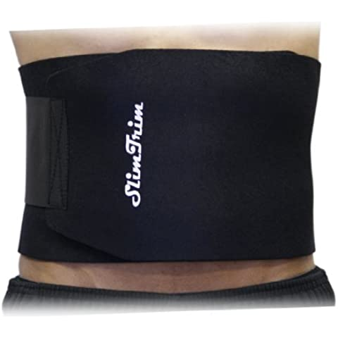 Slim Trim - Cinturón quemador de grasa y disminución de celulitis para la cintura, efecto sauna