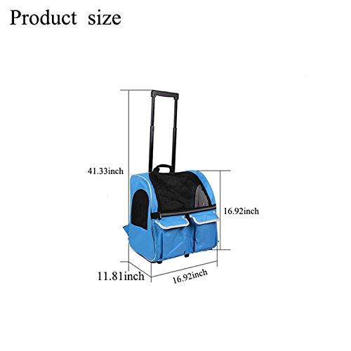 Pettom trasportino trolley zaino per cani anche per for Amazon trasportini per cani
