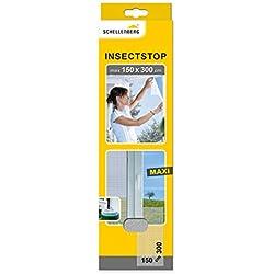 Schellenberg 50324 Maxi Moustiquaire contre insectes/moustiques 150 x 300 cm Blanc