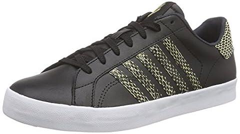 K-Swiss Belmont SO Snake, Damen Sneakers, Schwarz (Black/Metallic Gold), 41 EU (7 Damen UK)