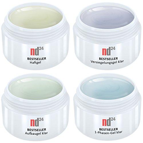 4-x-5ml-nd24-bestseller-gel-spar-pack-set-1-phasen-gel-klar-haftgel-aufbaugel-klar-finish-versiegler