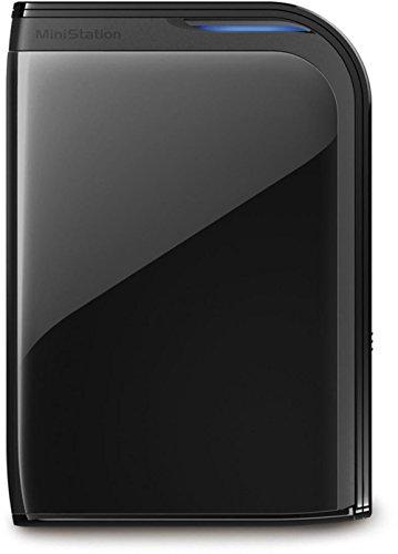 Buffalo HD-PZ500U3B-EU 500GB externe Festplatte (6,4 cm (2,5 Zoll), 5400rpm, 8MB Cache, USB 3.0) schwarz -