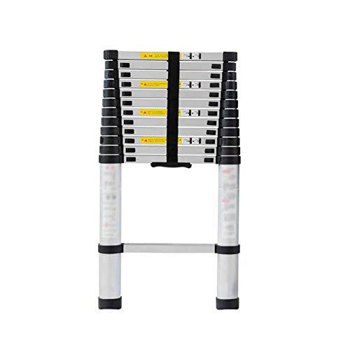 Schrumpfen Sie Fett (KTYXDE Teleskopleiter-Haupthardwaretechnik schrumpfen gerade Aluminiumlegierung der Leiter fett Tritthocker)