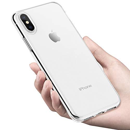 tronisky Funda iPhone XS MAX, Crystal Carcasa iPhone XS MAX Protectora Funda Suave TPU Gel Anti-rasguños Anti-Golpes Delgado Silicona Bumper Case para Apple iPhone XS MAX Cover, Transparente