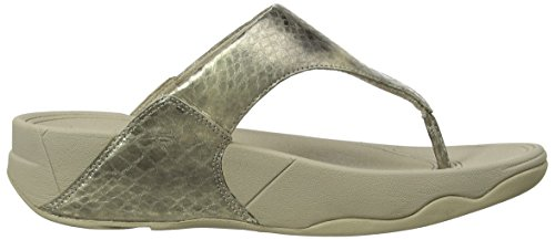 Fitflop Lulu 560, Sandales Femme Or (Pale Gold)