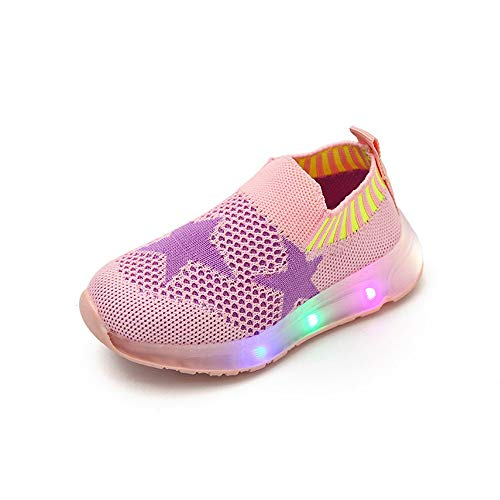Zapatos de Bebe,❤️ Amlaiworld Zapatos Deportivos Luminosos Niñas Niños Bebé Luz LED...