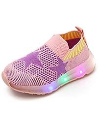Zapatos de Bebe,❤ Amlaiworld Zapatos Deportivos Luminosos Niñas Niños Bebé Luz LED Estrella