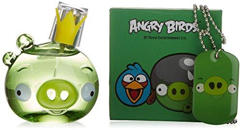 Angry Birds 5725 Cofanetto Regalo di Bellezza, King Pig, 3 Pezzi, Verde