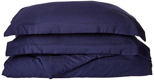 Wirklich Weich Everyday Bettbezug und Kissenbezüge Mini Set, navy, Full / Queen Duvet with Shams (Queen-mini-duvet-set)