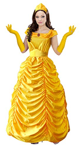 Karneval-Klamotten Belle Märchen Kostüm Damen Prinzessin Dame Luxus Karneval Damenkostüm Größe - Baby Belle Kostüm