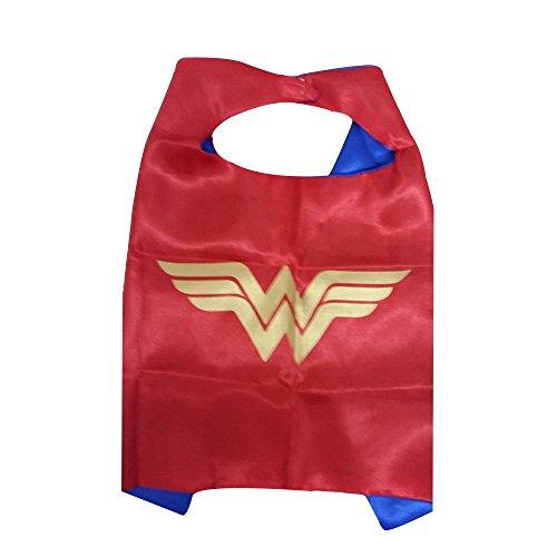 KeepworthSourcing, 55 x 70 cm, Motiv Superhero Regenmäntel für Kinder Party Kinder Gifts Wonder Woman