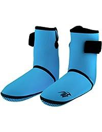 c2ee21dbc4afa5 Homyl Chaussons de Plongée en Néoprène 3mm et Nylon Chaussures d'eau Bottes  de Plage