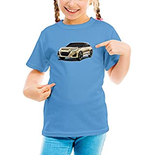 Billion Group | Suv Concept Japan | Fast And Furious Motor Cars | Girls Classic Crew Neck T-Shirt Blue Large