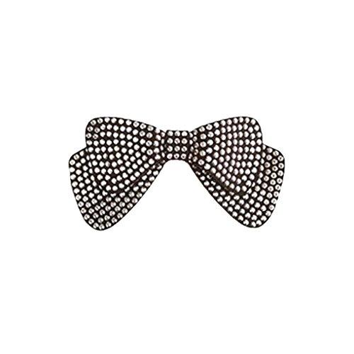 Bobury Frauen-Mädchen-Bogen-Haarnadel Schmuck Haarspange Klaue Mädchen Hochzeit Haar-Bogen-Krawatten Kopfbedeckung Schmuck