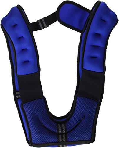 Fitness House FH - Chaleco lastrado, color azul, 5...
