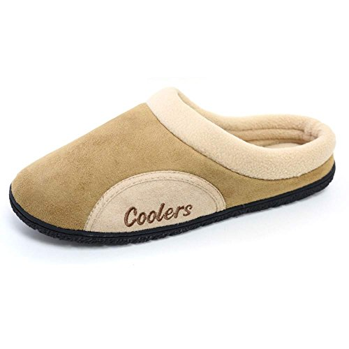 mens-coolers-mule-clog-slippers-with-memory-foam-insoles-sizes-7-12-11-12-uk-beige