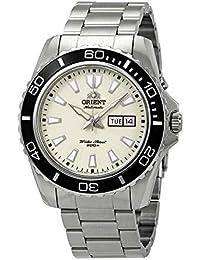 3ad7db39d35b Orient Reloj Analogico para Hombre de Automático con Correa en Acero  Inoxidable FEM75005R9