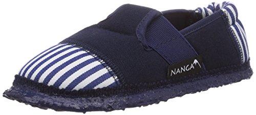 Nanga Sandstrand Jungen Flache Hausschuhe Blau (32)